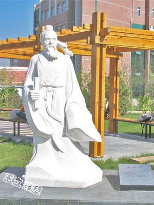 张仲景石雕像