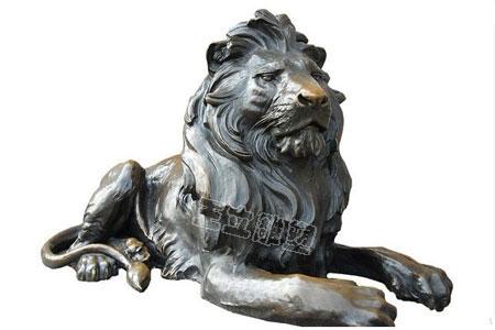 欧式铜狮子